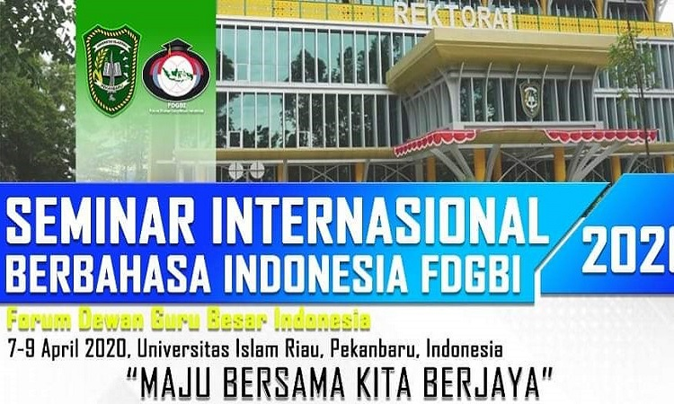 Seminar Internasional Berbahasa Indonesia FDGBI Tahun 2020