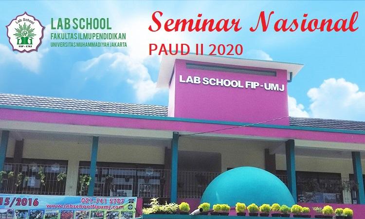 Seminar Nasional PAUD II Universitas Muhammadiyah Jakarta April 2020