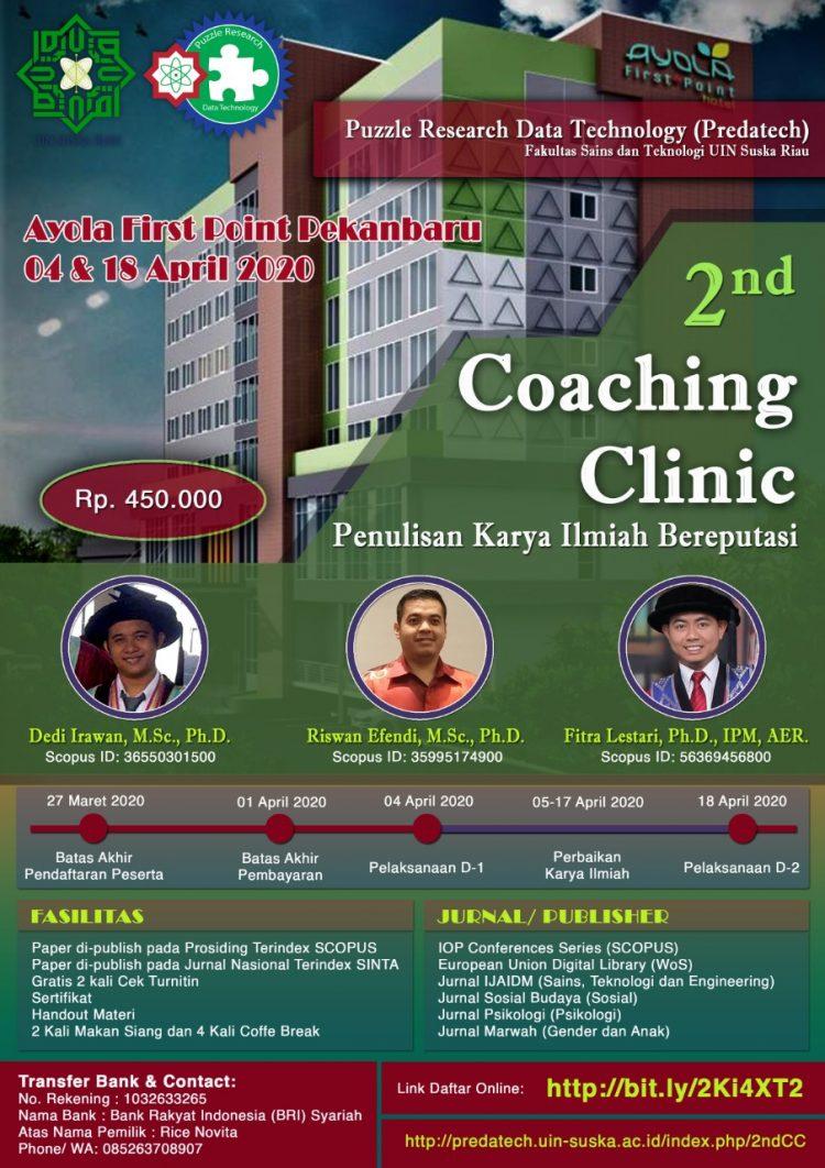 Coaching Clinic 2020