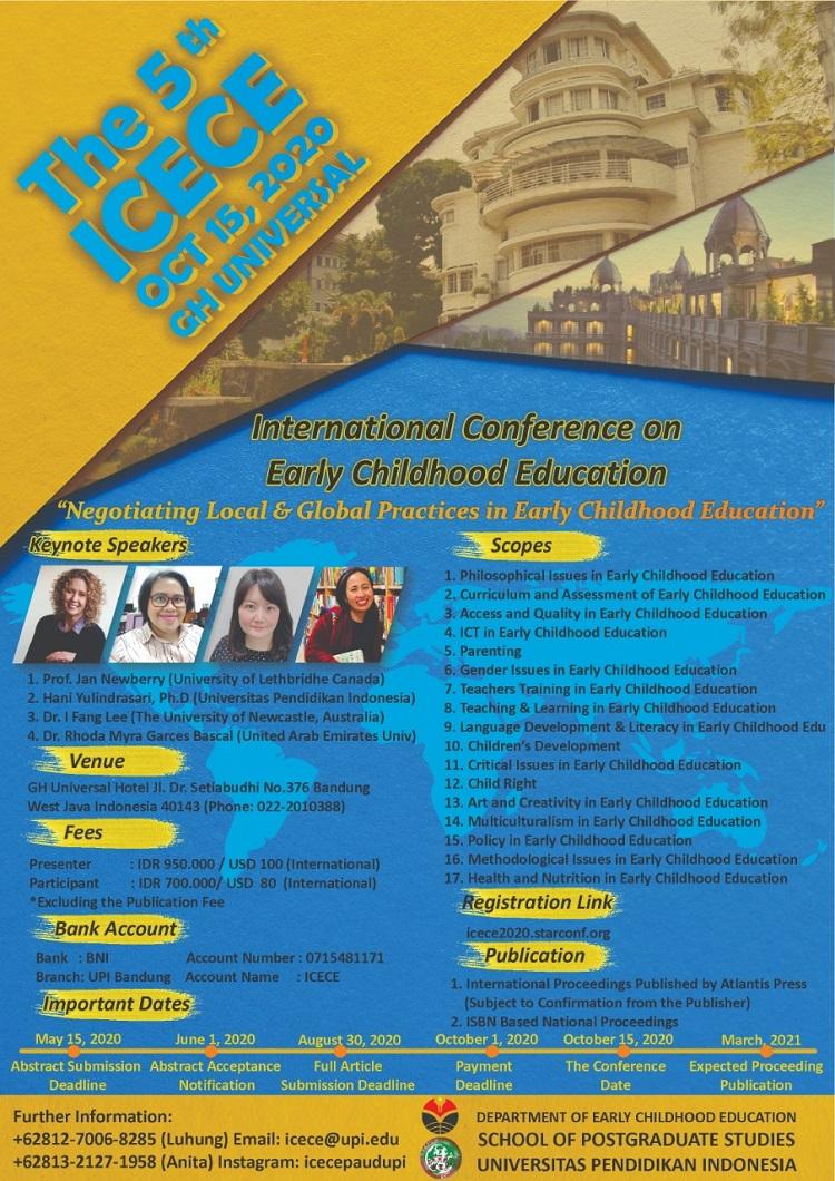 ICECE UPI Bandung 2020