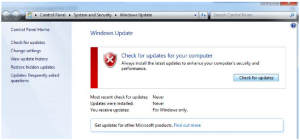 Gambar Install Update Windows