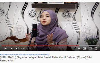 Cover Lagu Sayyidah oleh Fitri Rahmadaniah pada Channel Youtube