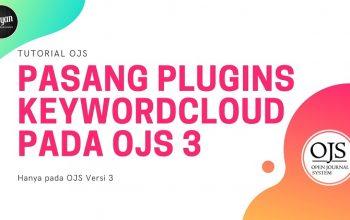Memasang Plugins KeywordCloud pada OJS 3
