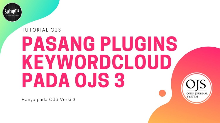 Plugins KeywordCloud pada OJS 3