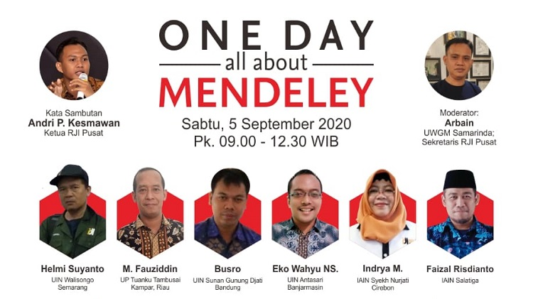 One Day About Mendeley bersama RJI