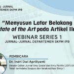 Workshop Penulisan Artikel Ilmiah IPB 2020