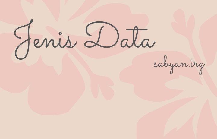 Data nominal, ordinal, interval, dan rasio